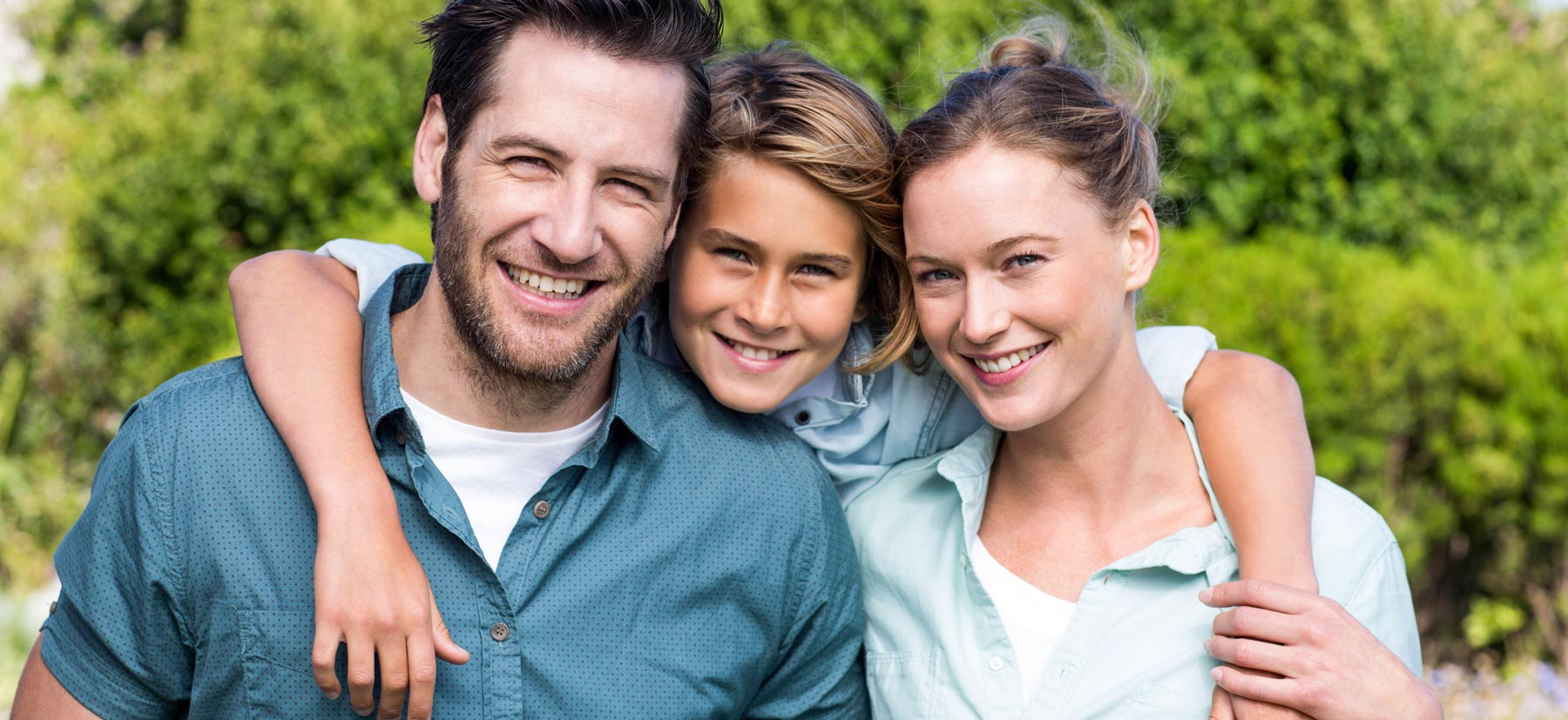 Palatine Complete Dental Smiling family